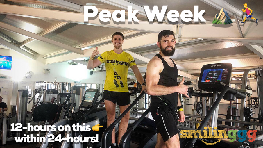 PEAK WEEK! 12-hours of stairclimbinggg within 24-hours...