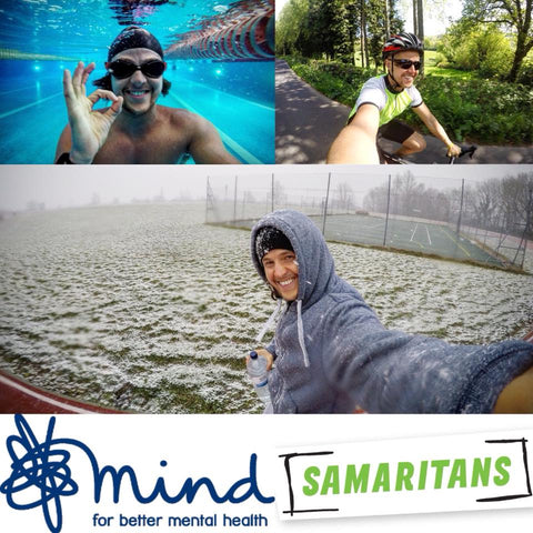 fundraising for samaritans and mind charity