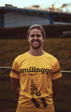 Smilinggg Technical Running T-Shirt (Unisex)