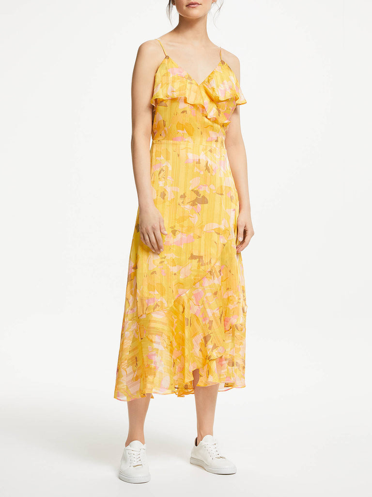 Second Female Heat Wrap Dress Daffodil