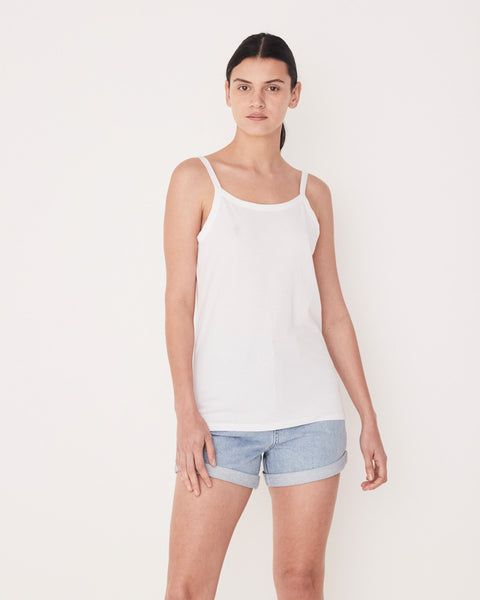 Assembly Label Daily Singlet White