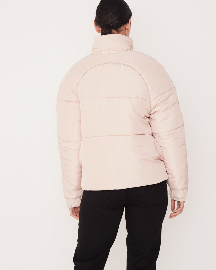Assembly Label Classic Puffer Jacket Rosewater