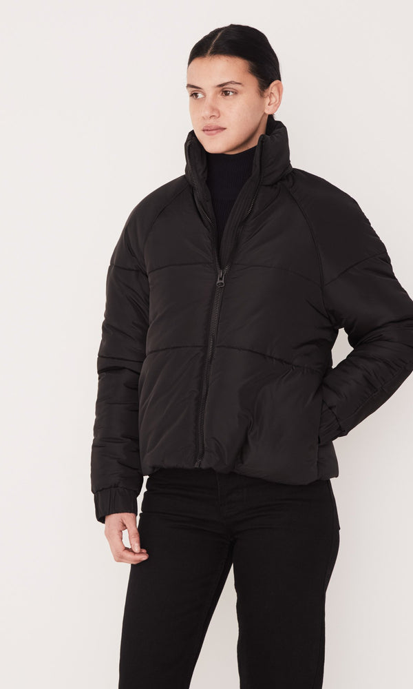 Assembly Label Classic Puffer Jacket Black