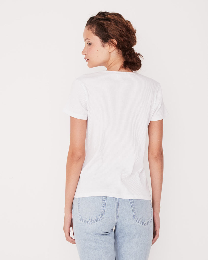 Assembly Label Ida Tee White