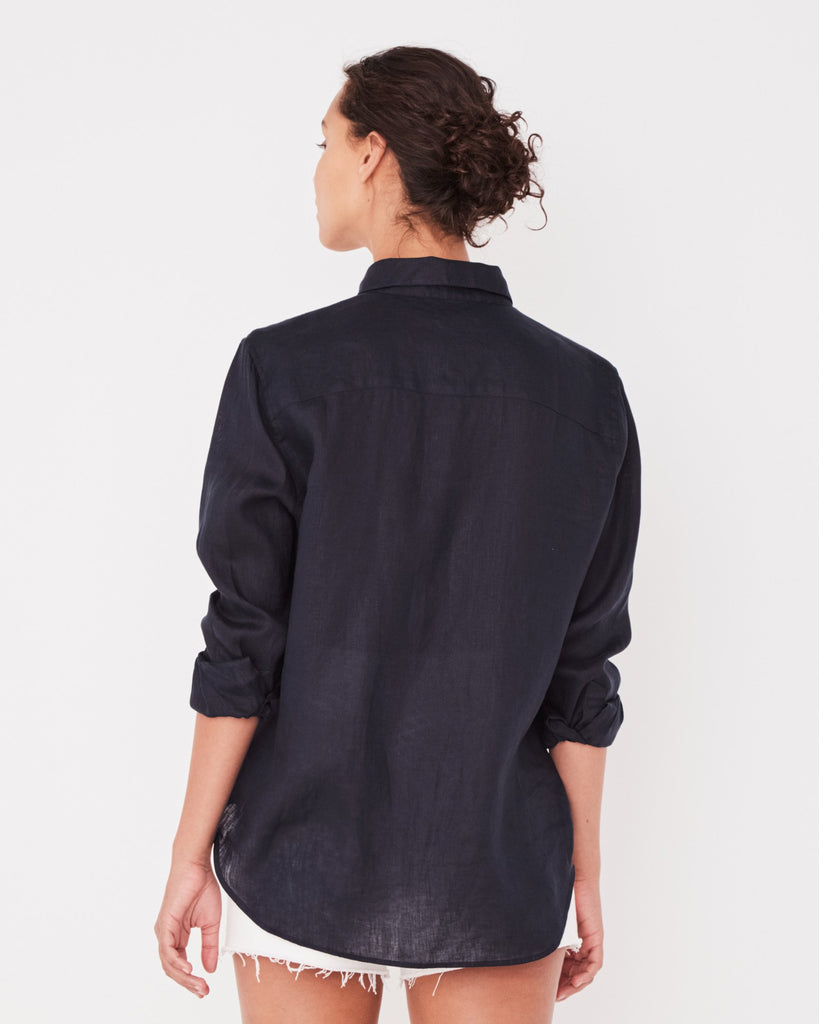 Assembly Label Xander Long Sleeve Shirt True Navy