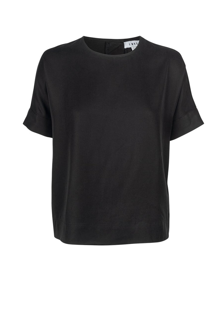 FWRD The Label Darra Top Black