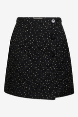 Baum und Pferdgarten Sheridan Skirt Black Straw Flying Dots