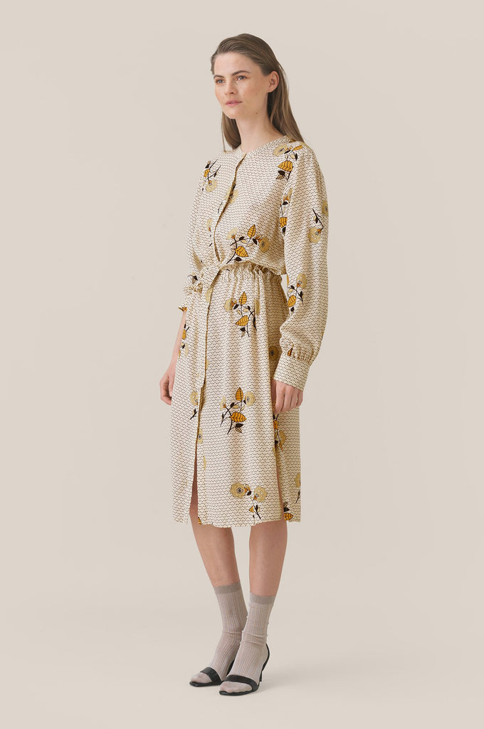 Second Female Rose Shirt Dress Brazilian Sand