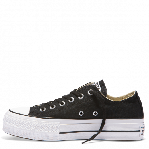 Converse Chuck Taylor All Star Lift Ox Black /White/White