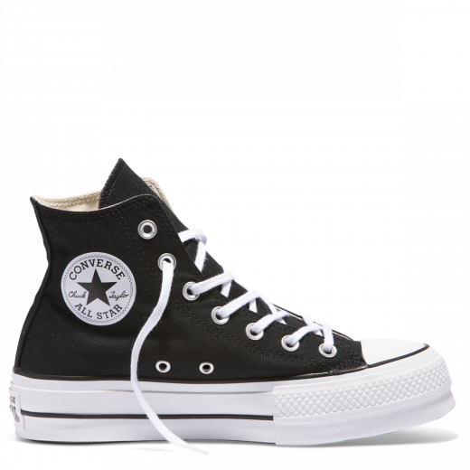 Converse Chuck Taylor All Star Platform Hi Top Black