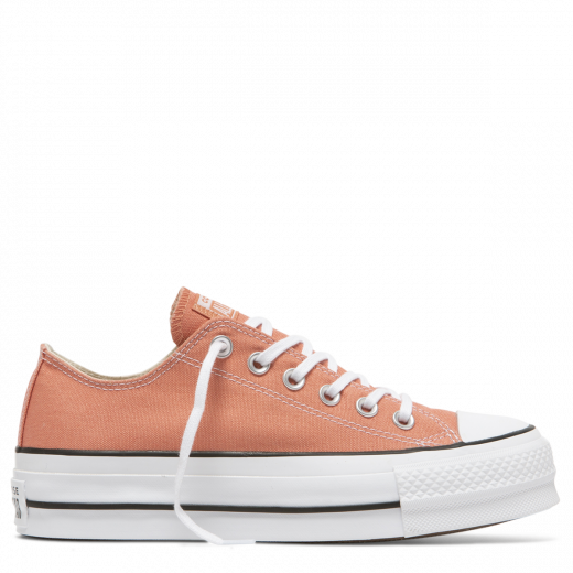 Converse Chuck Taylor Lift Seasonal Low Peach White Black