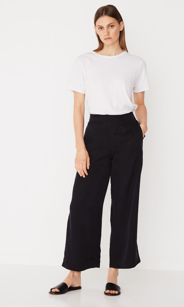 Assembly Label Bellevue Wide Leg Pant Black