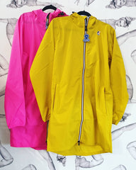 K-Way Le Vrai 3.0 Eiffel Jacket Yellow Mustard