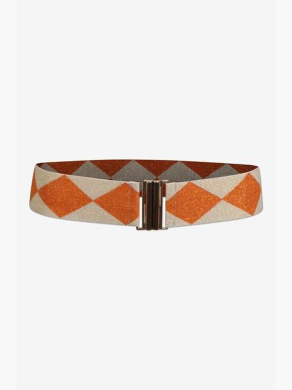 Baum und Pferdgarten Lilah Belt Cream Orange Check