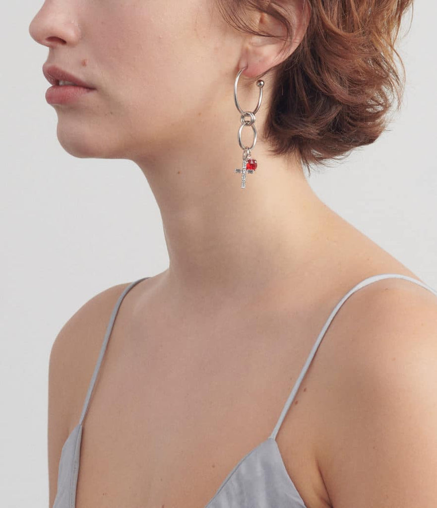 Justine Clenquet Angie Single Earring
