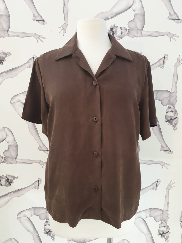 Astrid & Cyril Summer Shirt Chestnut
