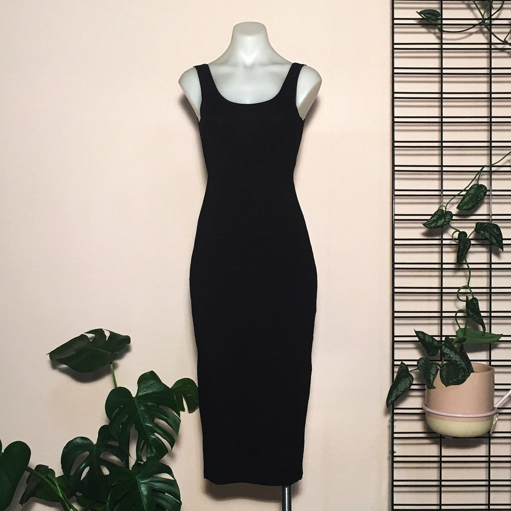 Hickey Hardware Slink Dress Black