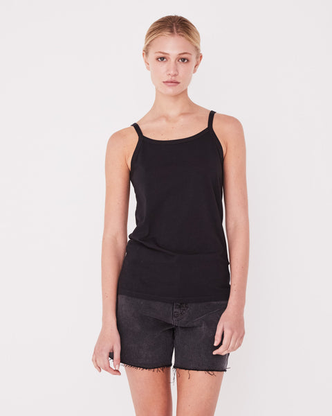 Assembly Label Daily Singlet Black