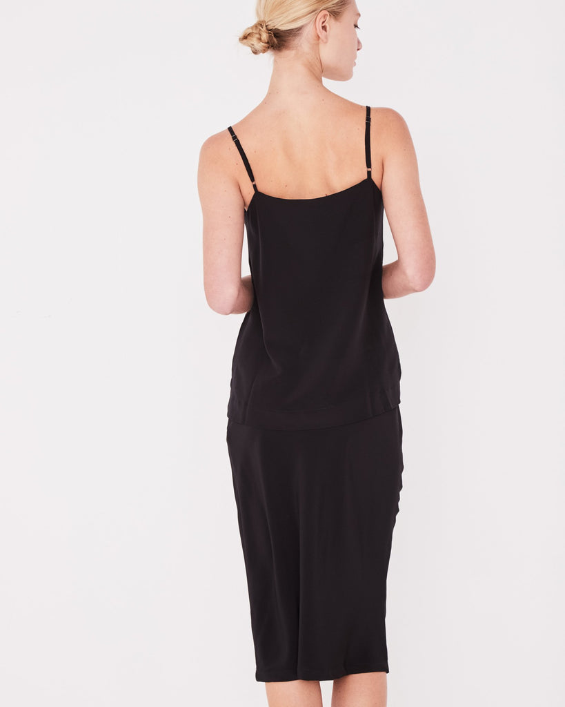 Assembly Label Malene Silk Cami Black