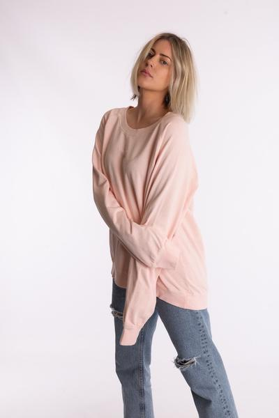 my izzi Levi Sweatshirt Dust Pink