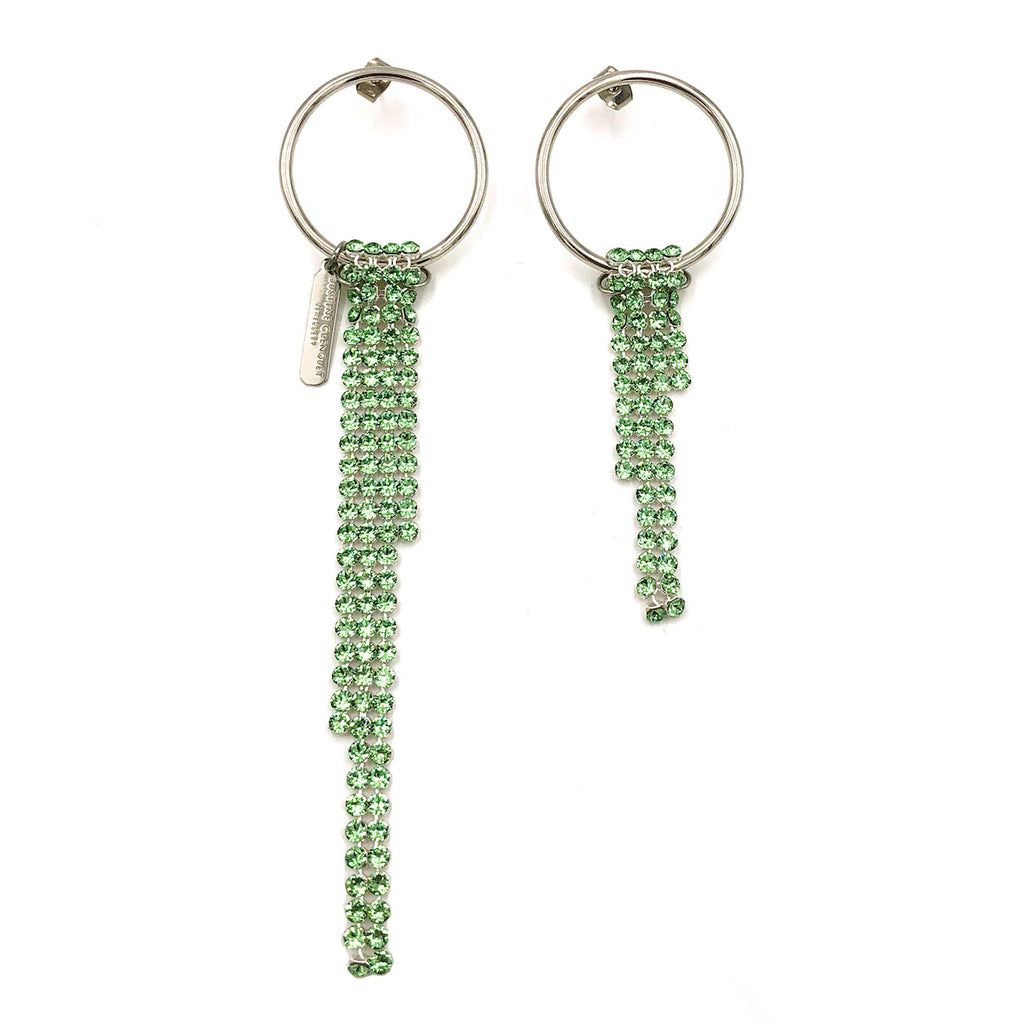 Justine Clenquet Jade Earrings
