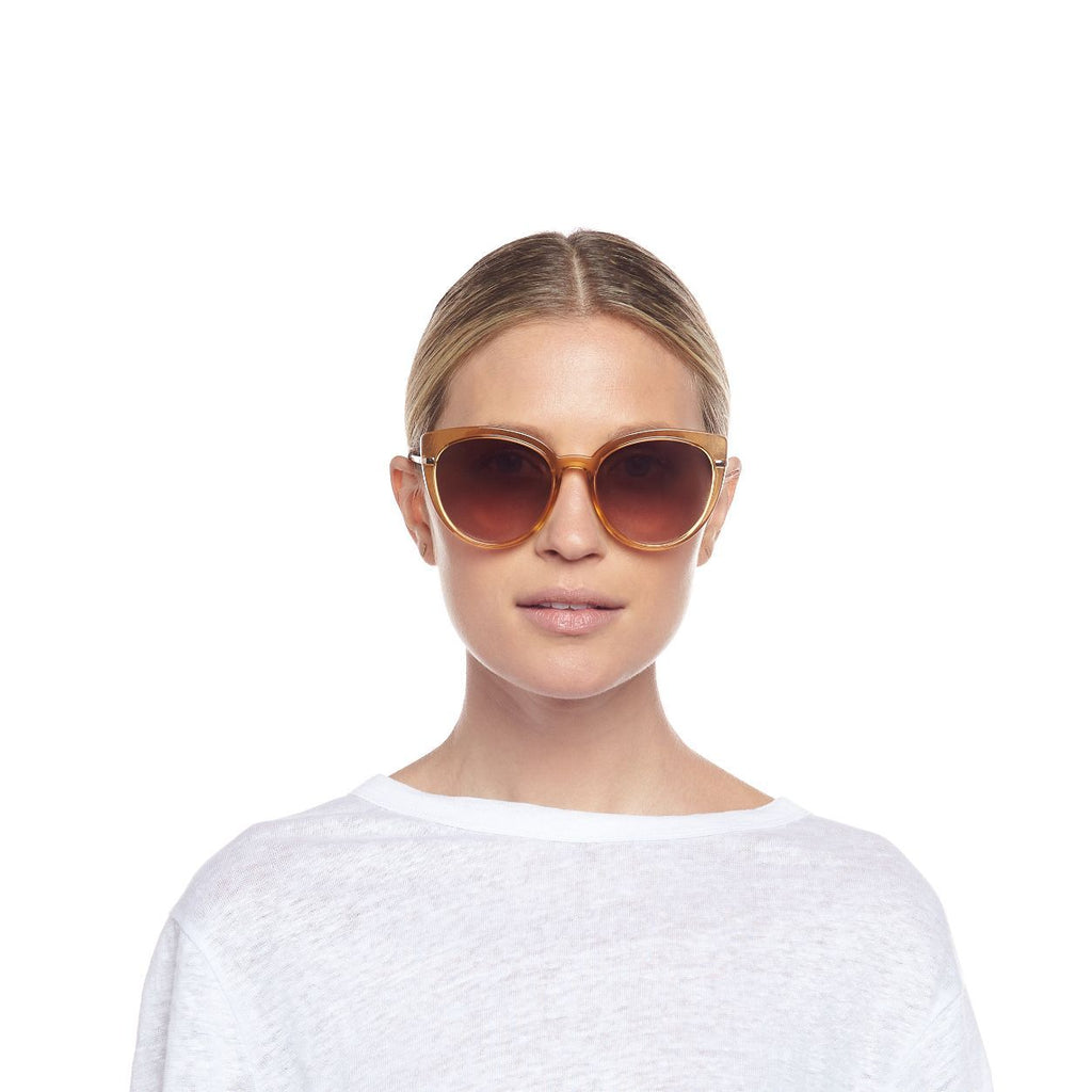 Le Specs Promiscuous Sunglasses Blonde