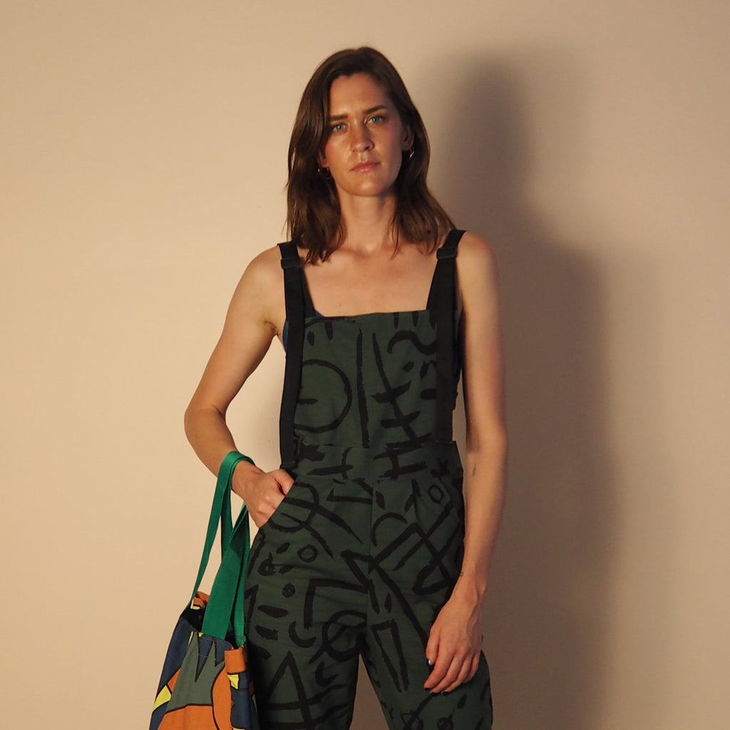Hickey Hardware Overalls Verse 2 Olive