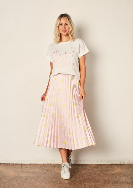 The Others The Sunray Skirt Pink with Yellow Spot