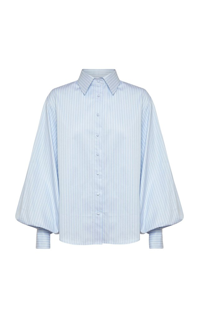 Anna Quan Clara Shirt Blue Stripe