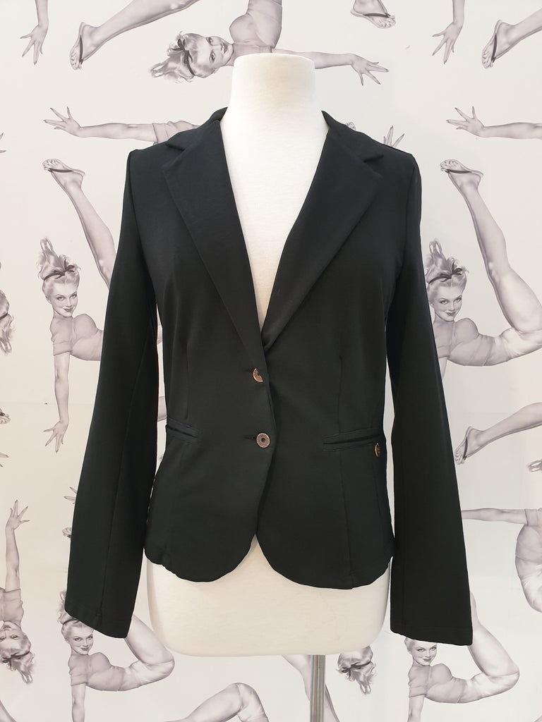 Pako Litto Blazer Molleton Noir