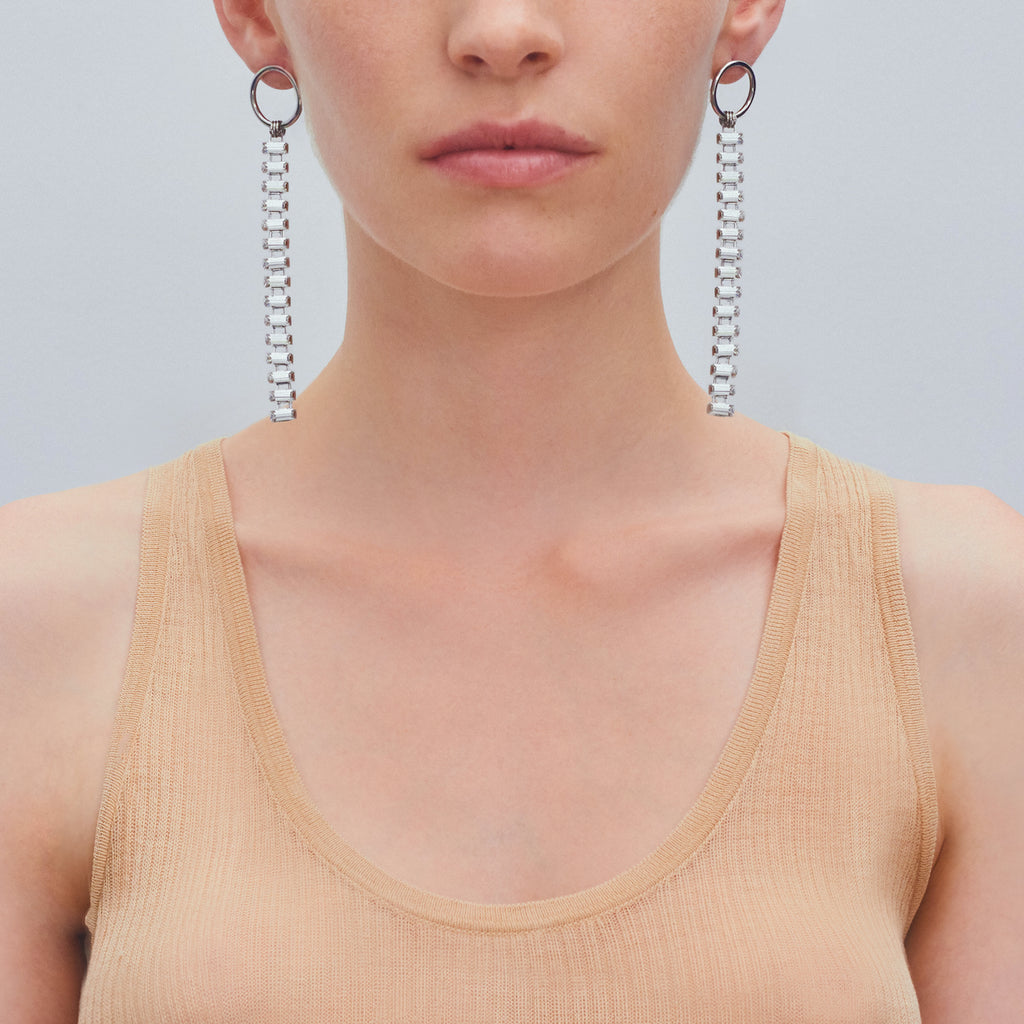 Justine Clenquet Patti Earrings