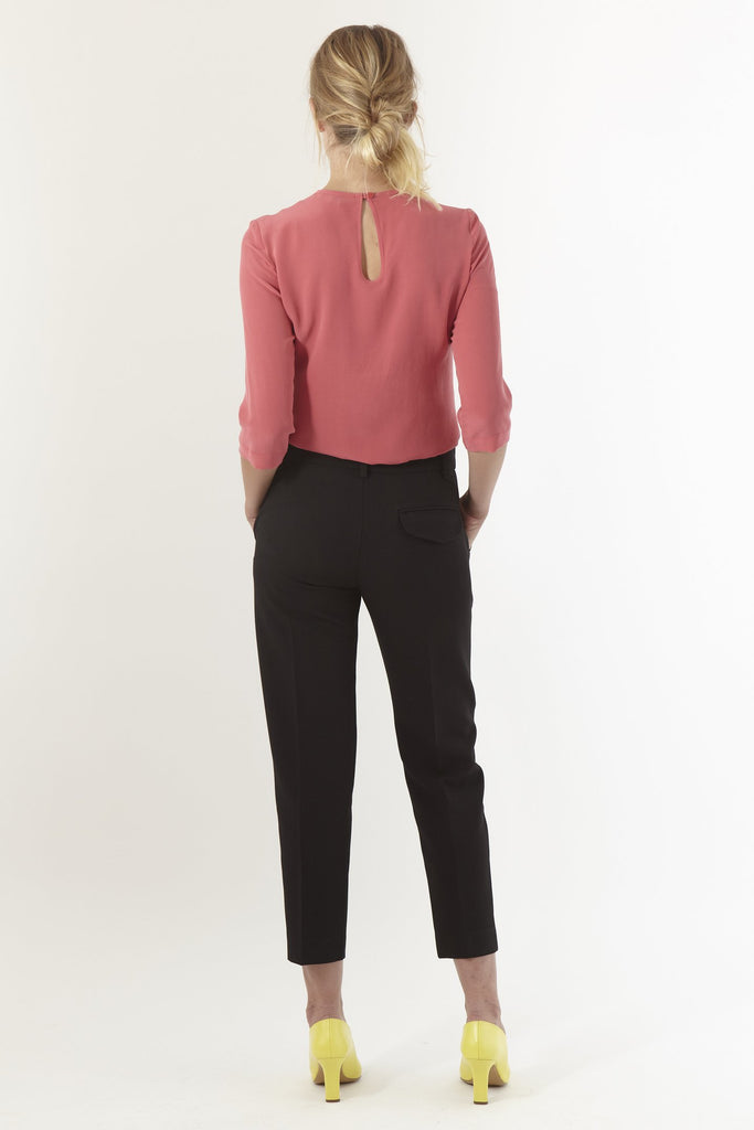 Kate Sylvester Quentin Trouser Black