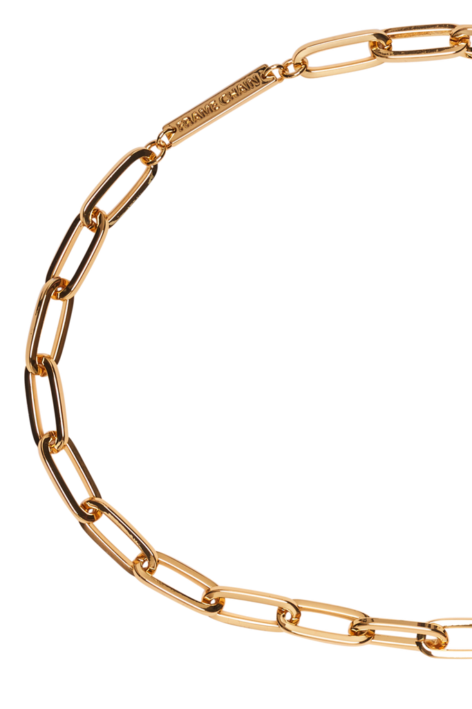 Frame Chain The Ron Yellow Gold