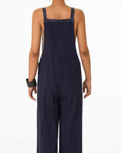 Hoodedwept Astrid Overalls Navy