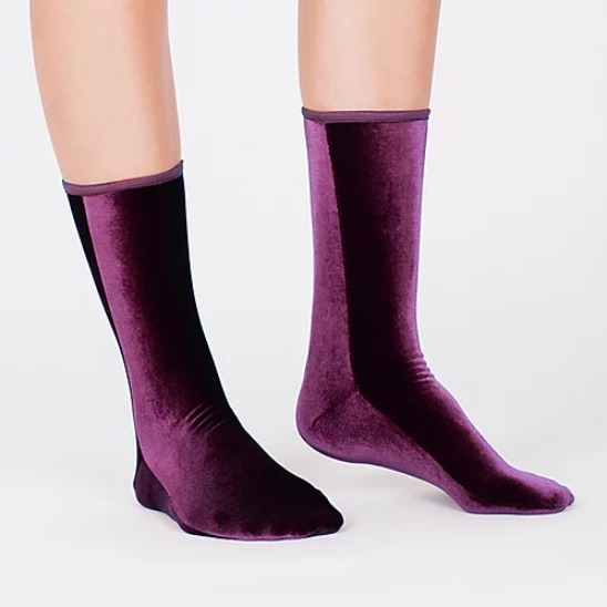 Velvet Sock's by Simone Wild Plum