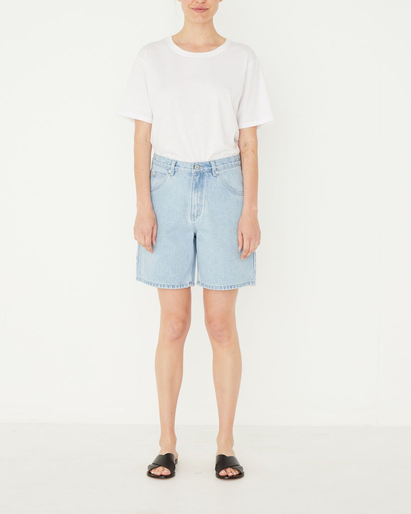Assembly Label Rowley Denim Short Pacific Blue