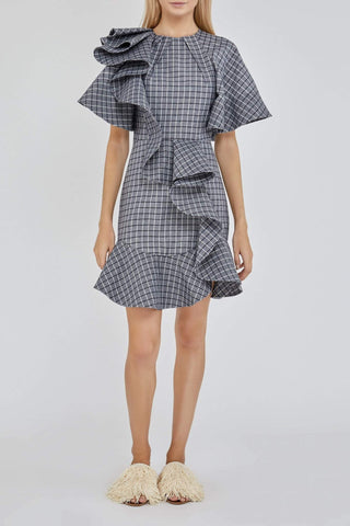 Acler Piper Dress Check