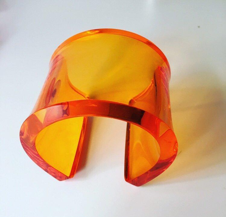 Alexandra Blak XL Mod Cuff Orange