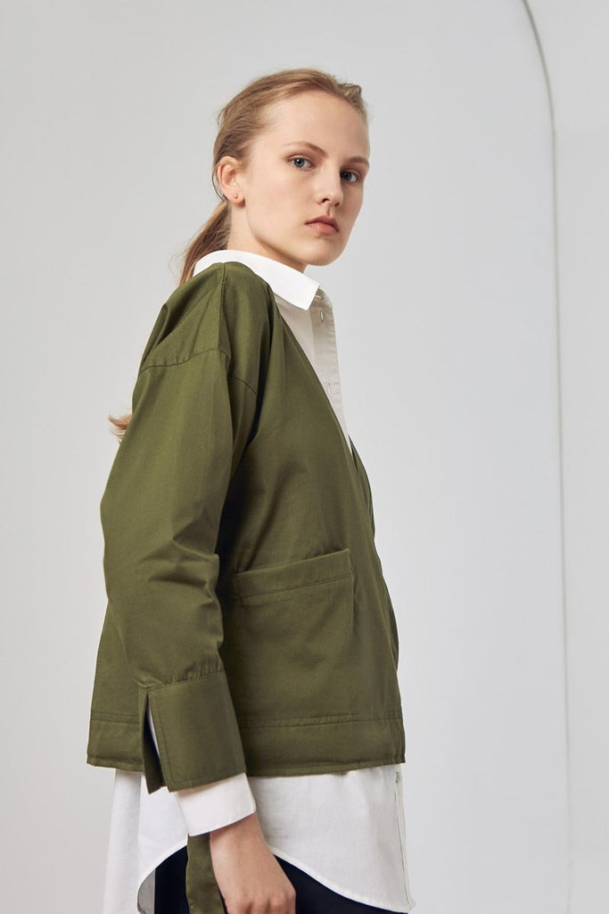 Kowtow Assemble Top Moss