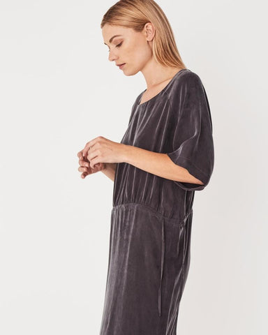 Assembly Label / Gather Dress / Coal