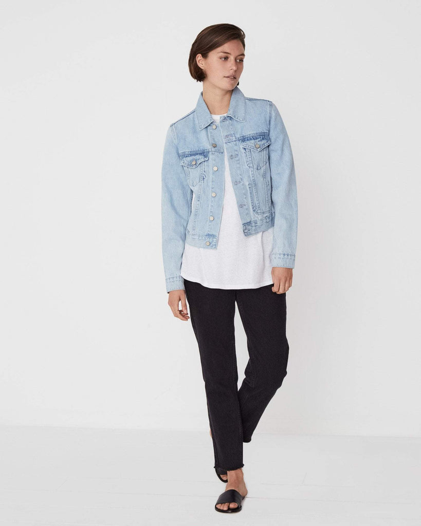 Assembly Label / Femme Denim Jacket / Sea Blue