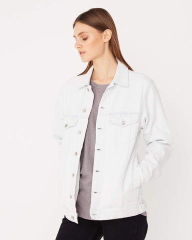 Assembly Label Ledger Denim Jacket Light Wash