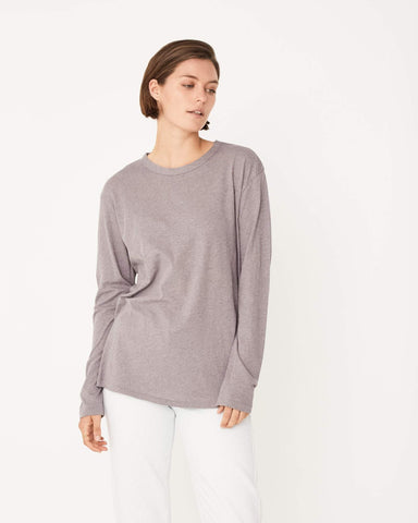 Assembly Label / Bay Long Sleeve Tee / Stone Marle