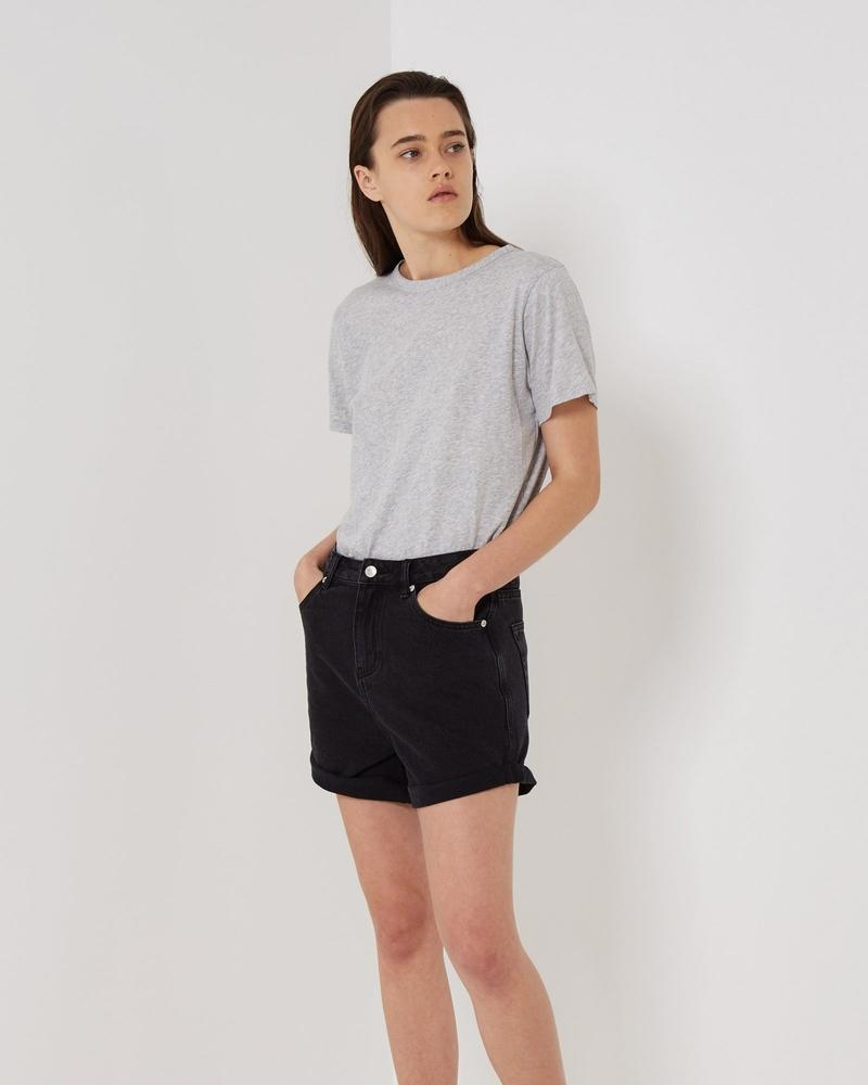 Assembly Label Everyday Tee in Grey Marle
