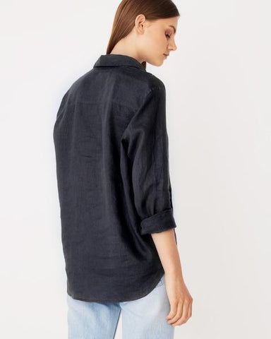 Assembly Label Xander Long Sleeve Shirt Deep Ink