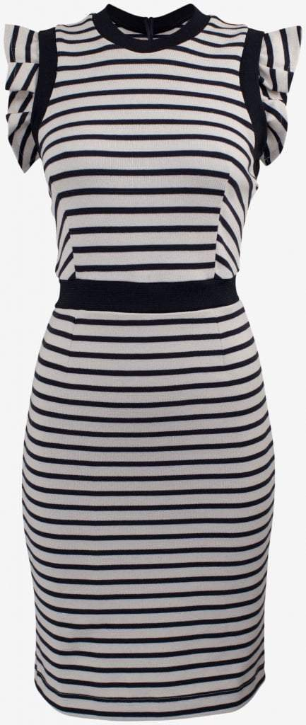 Baum und Pferdgarten Jasey Dress Cream Stripe