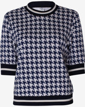 Baum Und Pferdgarten Jacomina Top Night Sky Houndstooth