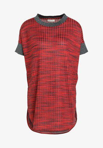By Malene Birger Falmia Knit Top Red