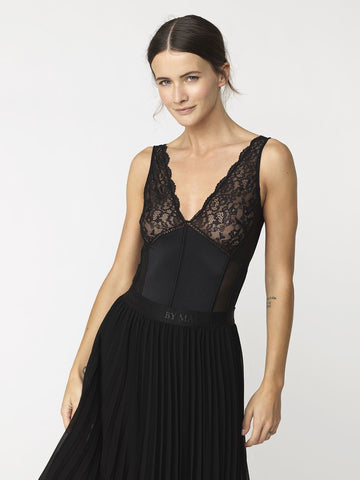 By Malene Birger Annamie Bodysuit Black