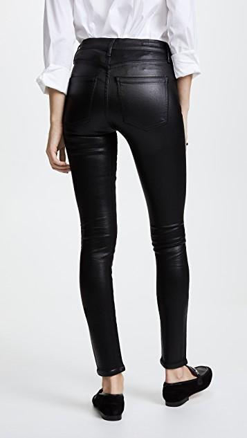Citizens of Humanity Leatherette Rocket High Rise Skinny